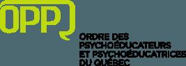 Logo de l'Ordre des psychoéducateurs et psychoéducatrices du Québec