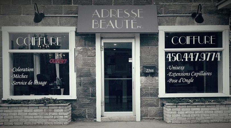 Image Adresse Beauté - Chambly