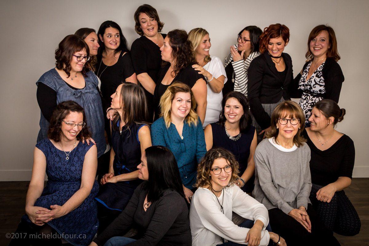 Membres de l'équipe de la Clinique Lüna
